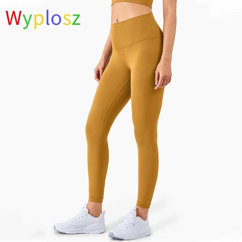 Купить с кэшбэком Wyplosz Leggings For Fitness Pants Leggings Fitness Women's Sport Pants Gym Large Size Skin Friendly Compress Nudity Hip Lift