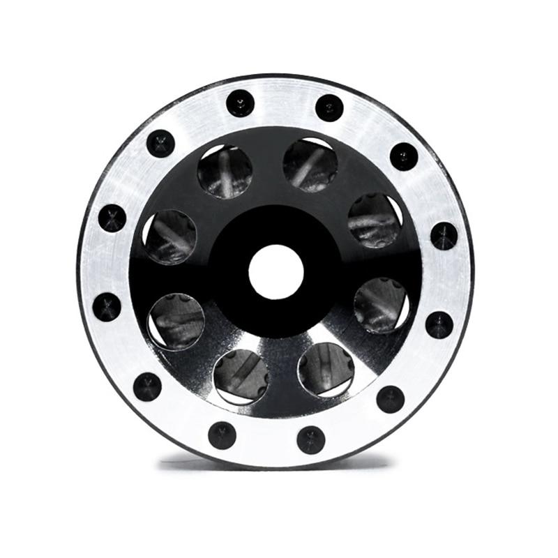 Orlandoo Hunter RC Car Wheel Rim Simulation Metal Wheel Rim 1/35 Black Wheel Hub With Disc For 1/35 RC Car Spare Parts