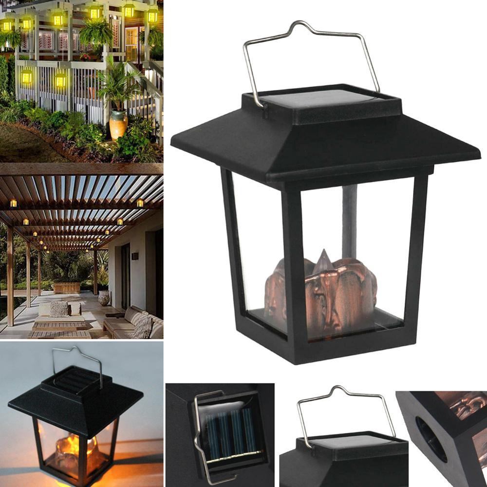 Lámpara de viento colgante LED, energía Solar, faroles, decoración de luces Vintage para jardín ds99