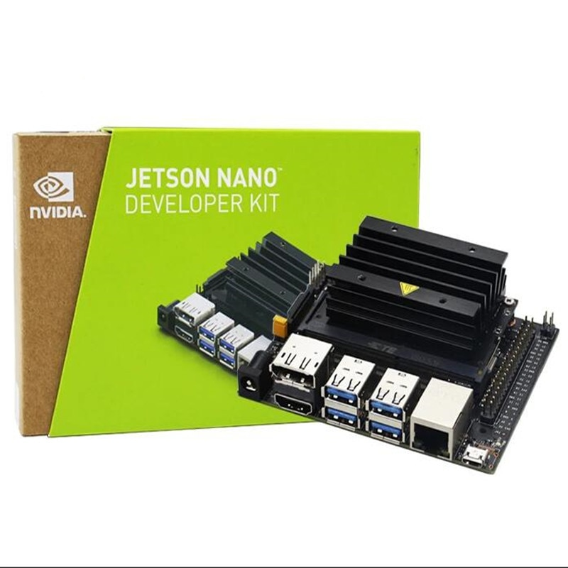 Jetson Nano B01 Board AI Developer Luxurious Kit with 64G SD Card IMX219 Camera 7 Inch Display and Wireless Network Card enlarge