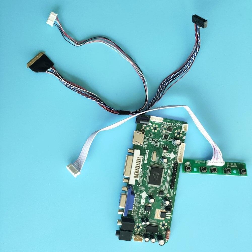 عدة ل B140XW01 V0/B140XW01 V2 1366x768 HDMI-متوافق + DVI + VGA 40pin LCD LED لوحة تحكم عرض موتور M.NT68676 الشاشة