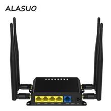 300Mbps 4G routeur Wifi avec emplacement pour carte SIM USB 4 x 5dBi antennes bureau à domicile extérieur Portable sans fil wi-fi routeur Point daccès