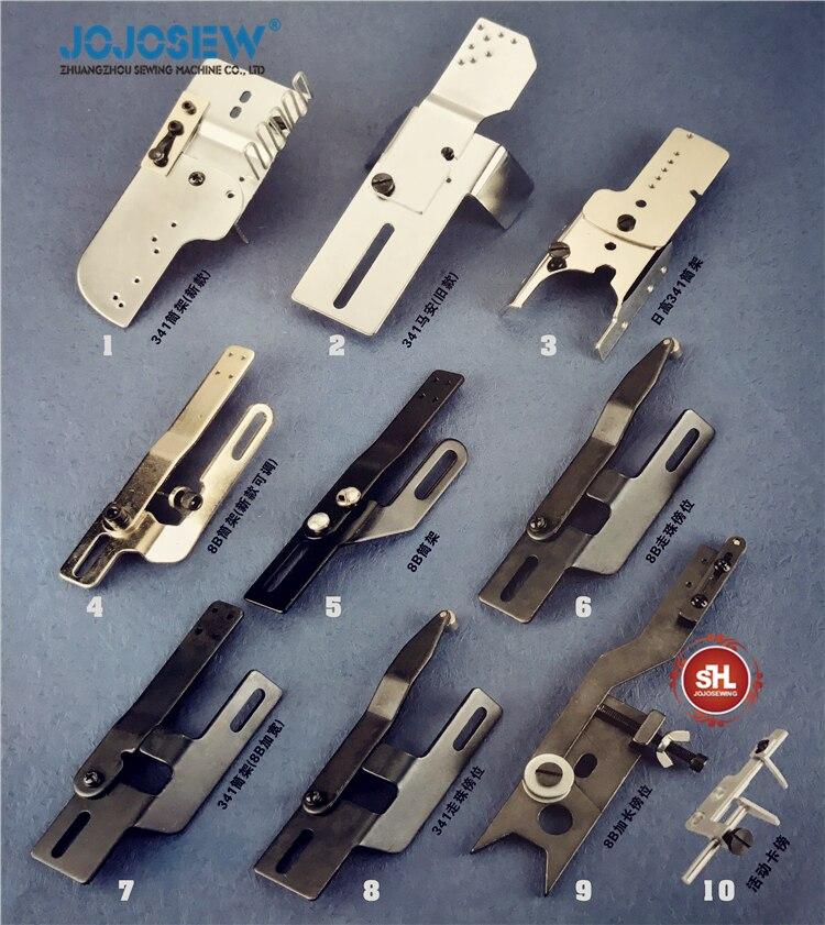 8B 1341 246 Máquina De Coser Industrial Pie de hermano Juki para Mitsubishi Nakajima Rex para Seiko cantante bordeadora marco para borde
