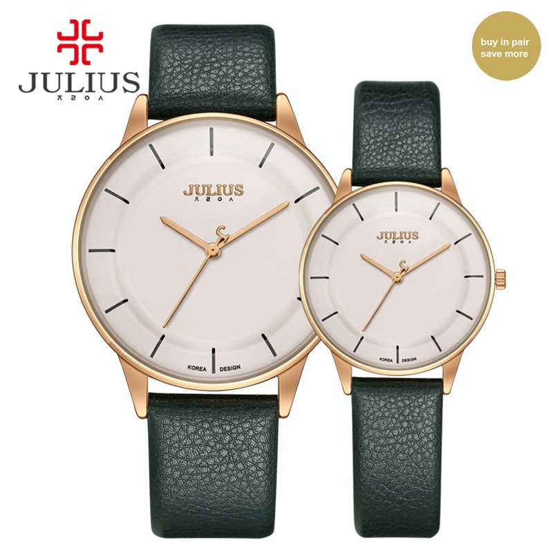Lover Watches Man Woman Watch Top Brand Luxury Simple Leather Strap Ultra Thin Couple  Fashion Gift Wristwatch Clock Best Seller