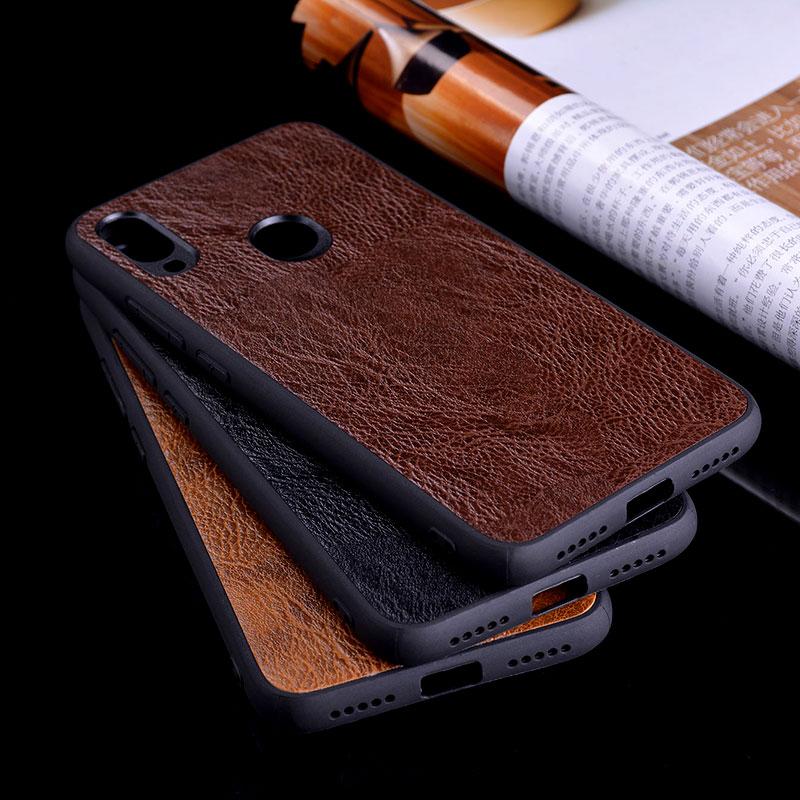 Funda para Xiaomi Redmi Note 5 7 pro Vintage cuero árbol patrón piel suave silicona cubierta para Redmi Note 5 7 procase coque capa