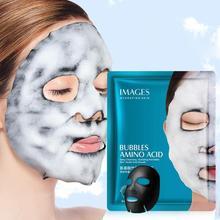 Acide aminé bambou charbon de bois masque à bulles hydratant humidité rafraîchissante huile contrôle masque nettoyant en profondeur