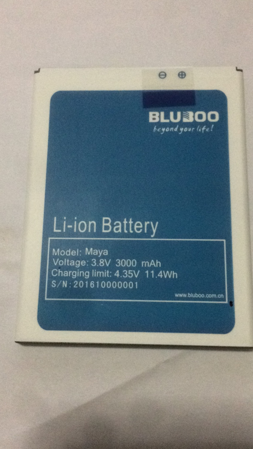 Bluboo Maya Battery 3000mAh Mobile Phone Replacement Accessory Accumulators For Bluboo Maya