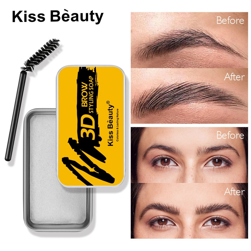 Colorless And Transparent Eyebrow Styling Soap Refreshing And Long-lasting Natural Eyebrow Styling B