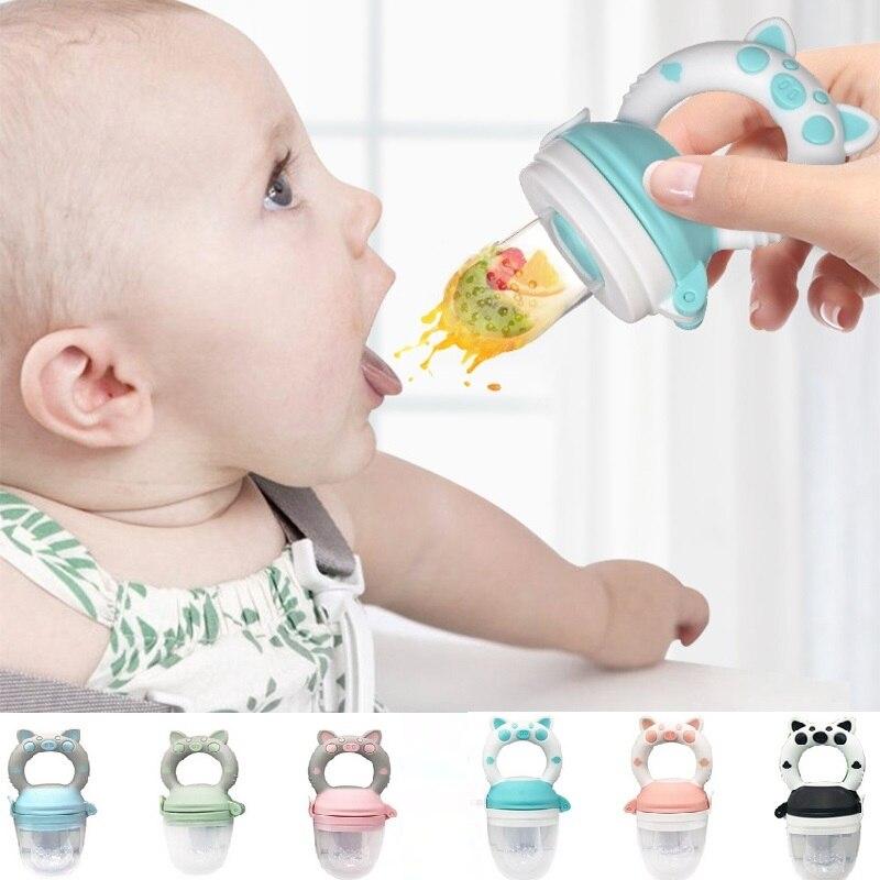 Baby Fresh Food Nipple Feeder Kids Boy Girl Fruit Nipples Feeding Infant Baby Supplies Nipple Soother Pacifer