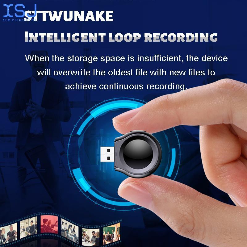 Mini camera 1080P HD DV Professional Digital Voice Video recorder small micro sound Dictaphone secret home enlarge