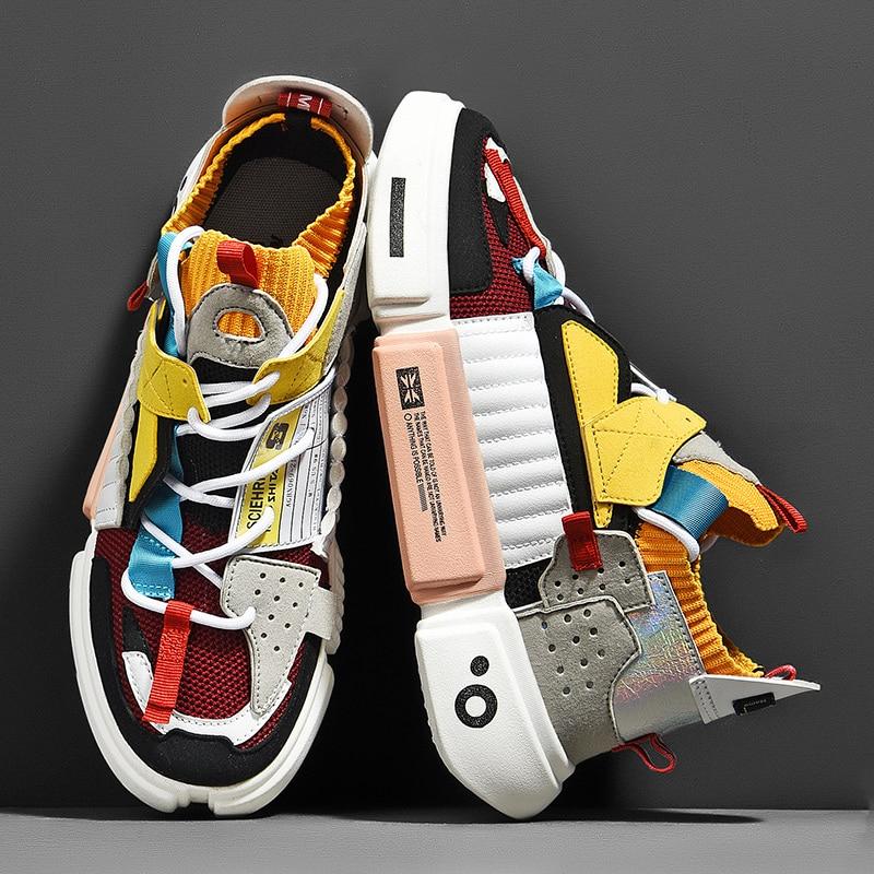 جديد احذية الجري عالية الجودة للرجال تنفس أحذية رياضية مصمم مريح لينة الركض أحذية رياضية Zapatillas