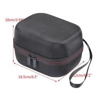 Sac de rangement en EVA dur  resistant aux chocs  voyage en plein air  boite de transport pour HomePod Mini haut-parleur intelligent T84C