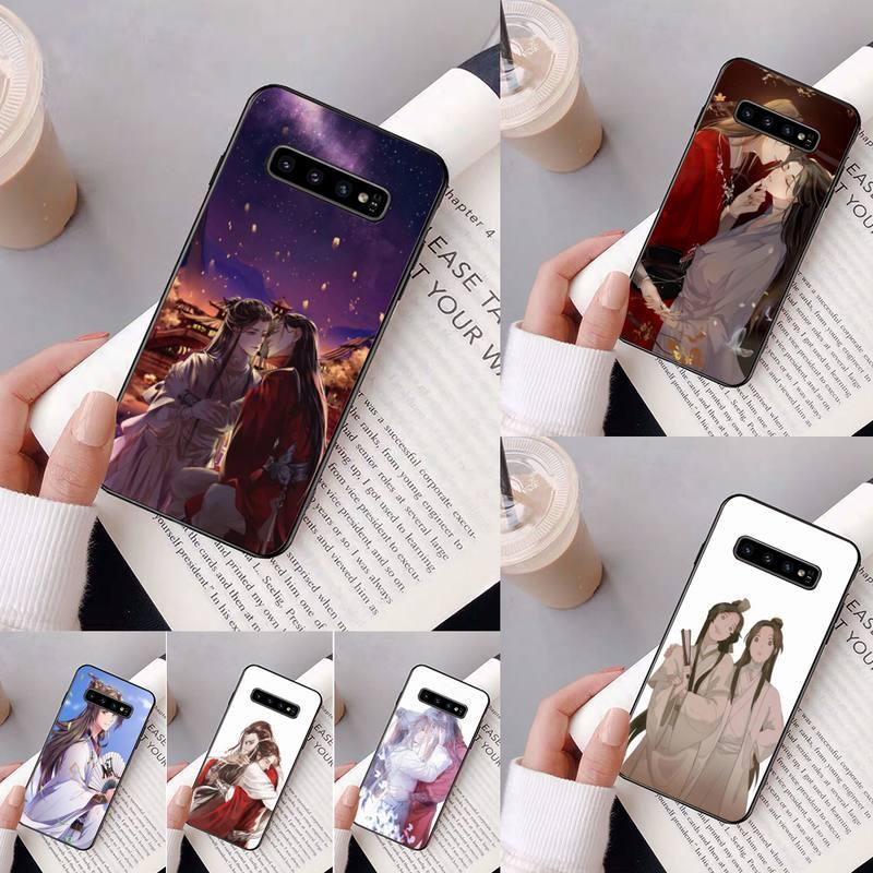 Funda de teléfono pintada Yinuoda Tian Guan Ci Fu para Samsung Galaxy A50, A30, A71, A40, S10E, A60, A50s, A30s, Note 8, 9, S10 Plus, S10, S20, S8