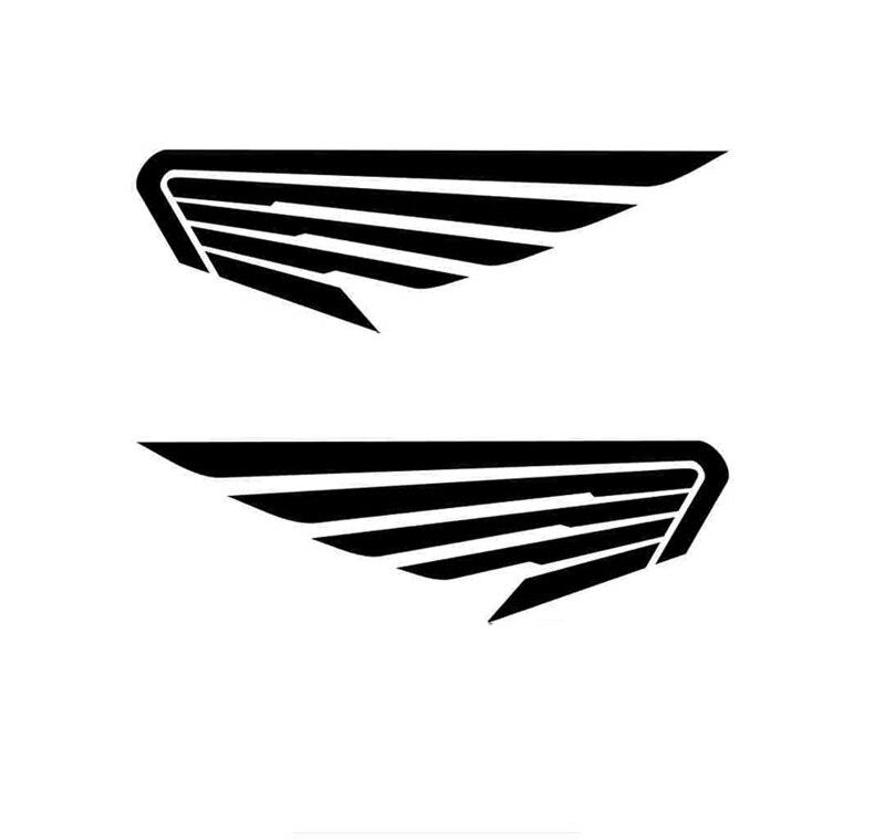 Интересные Автомобильные Крылья Ангела птицы перо модные виниловые автомобильные наклейки
