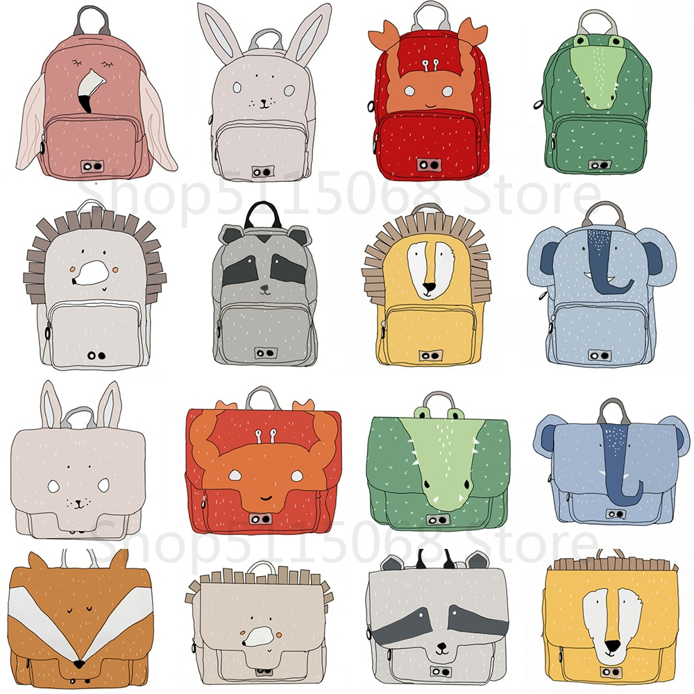 kids backpack 2020 New Fashion Kid Animal School Bag Lovely Cute Toddler Children Boys Girls Backpack Baby All Accessories