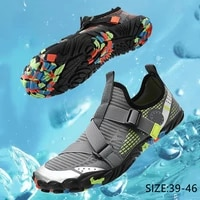 fashion men aqua shoes summer breathable non slip water shoes high quality footwear barefoot shoes trail trekking size 39 47