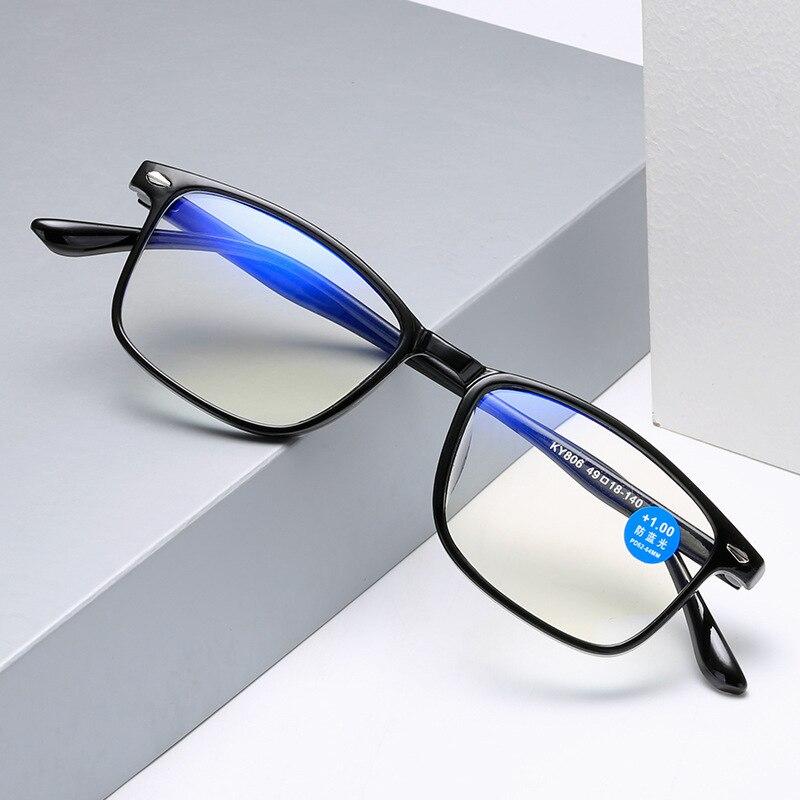 Очки для чтения с защитой от сисветильник света, + 1,0 + 1,5 + 2,0 + 2,5 + 3,0 + 3,5 + 4,0