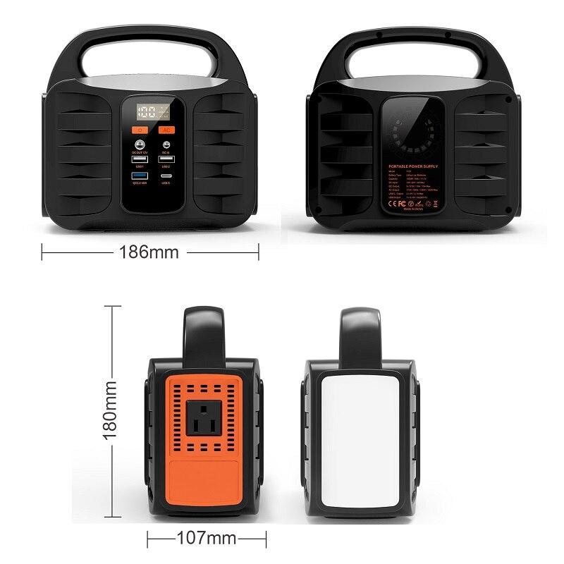 110V 100W Mini Generator Solar Portable Power Inverter Battery For Usa/Japan enlarge