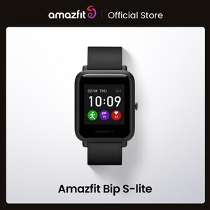 Global Version Amazfit Bip S Lite Smartwatch Color Display 5ATM Waterproof Swimming Smart Watch 1.28inch For Android ios Phone