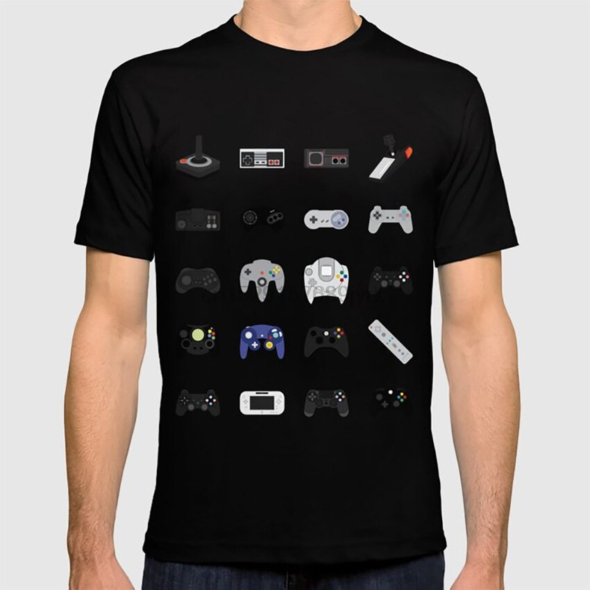 Konsole Evolution T hemd gaming video spiele retro vintage retrogaming geek pop kultur 70s 80s 90s