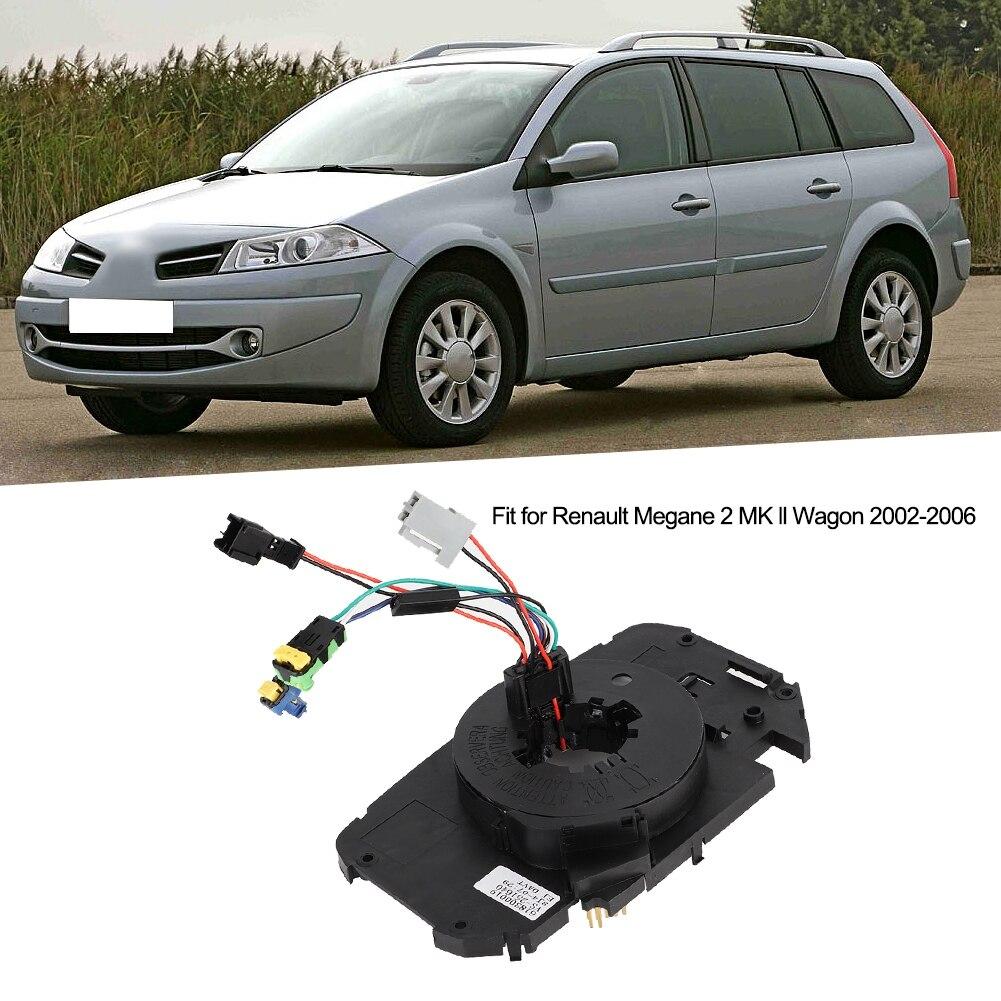 Herramientas para el coche, resorte del reloj, Cable espiral para Renault Megane 2 MK ll Wagon 2002-2006, accesorios para el coche