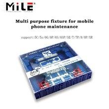 Mile Multi support de carte de réparation de téléphone portable pour iPhone XR 8 8plus 7 6 6s plus 5S pour A7 A8 A9 A10 carte mère puce montage
