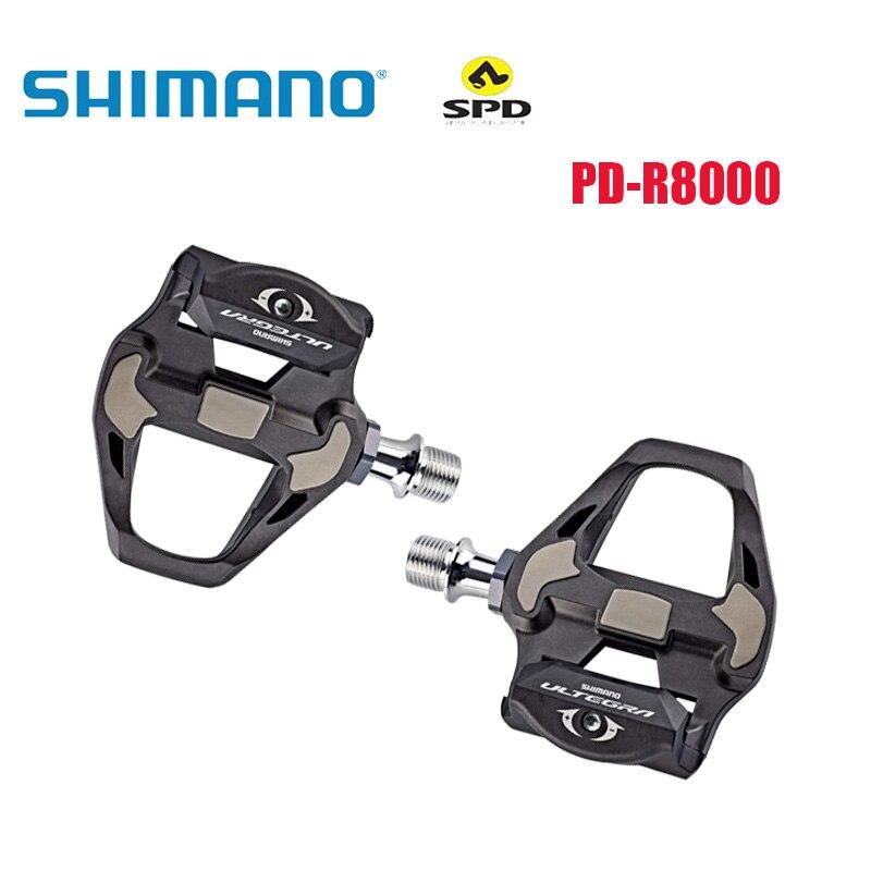 Ultegra-pedales de bicicleta de carretera de carbono PD-R8000, SPD-SL, con SPD-SL, R8000,...