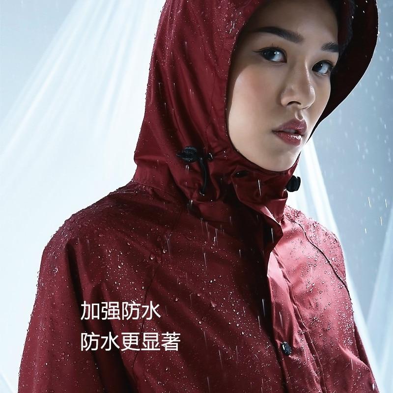 Waterproof Coat Rain Cover Portable Raincoat Hooded Impermeable Rain Gear Military Poncho Lightweight Raincoat Chuva Home Eg50yy enlarge