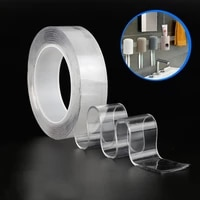 reusable double sided tape kitchen bathroom waterproof and mildewproof nano tape sink bathtub sealant strong transparent tapes
