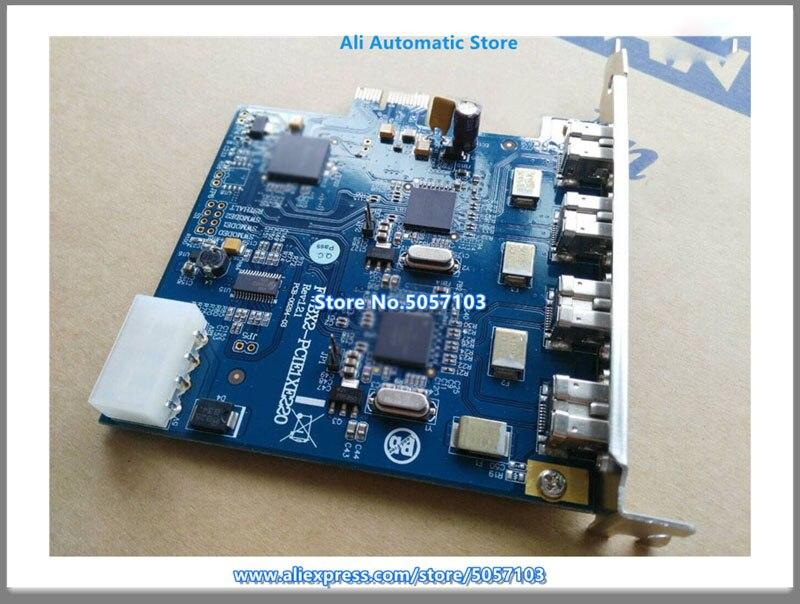 IOI FWBX2-PCIE1XE220 4 واجهة 1394B بطاقة اكتساب IOI FW643 Teixin