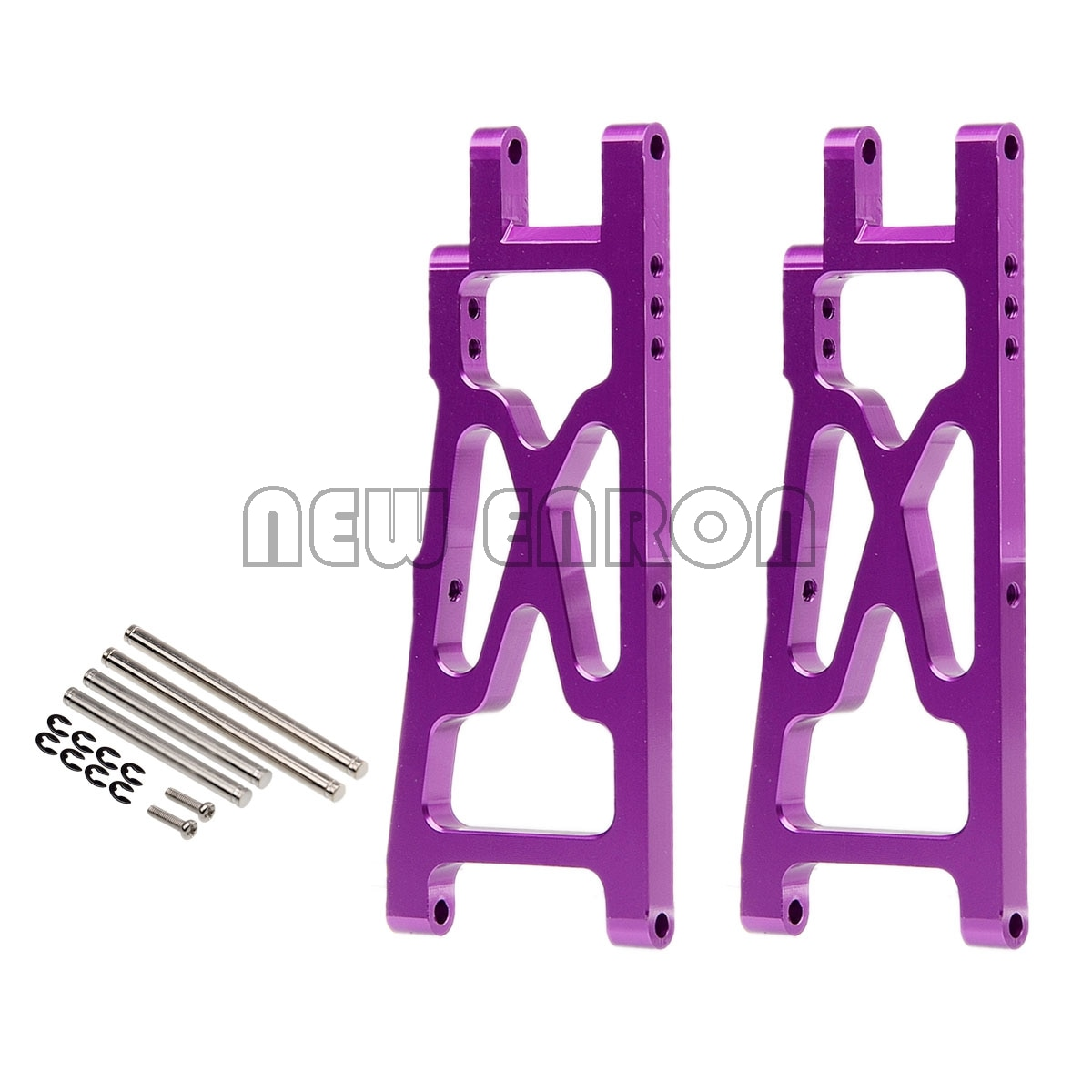 NEUE ENRON 2Pcs Aluminium Rear Lower Suspension Arm Set #85074 FÜR RC AUTO 1/10 HPI NITRO RS4 MT 2 18SS RTR G 3,0 18SS + KIT