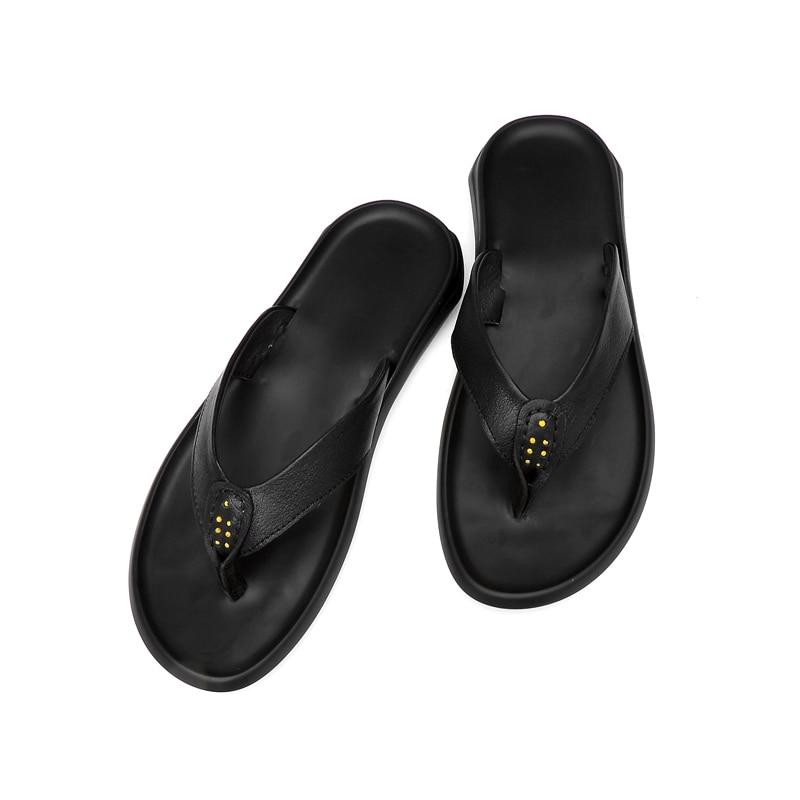 Sandalia de diseñador herren sport ete sandale de verano para playa, Sandalia de cuero para hombre, chanclas romanas de rasteira 2020