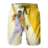 summer queen board shorts men quick dry swimming trunks swimwear hombre vacation surf beach short pants casual male