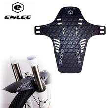 Enlee mtb 2 pçs bicicleta fender dianteiro traseiro paralama adequado para forquilha dianteira da roda traseira fender enduro lama guarda acessórios de ciclismo