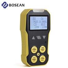 Bosean Multi เครื่องตรวจจับก๊าซ Gas Meter O2 H2S CO LEL 4 In 1ออกซิเจนบำรุงฟื้นฟูเปลี่ยนสีผมพร้อมเคลือบเงาผมในขั้นต...
