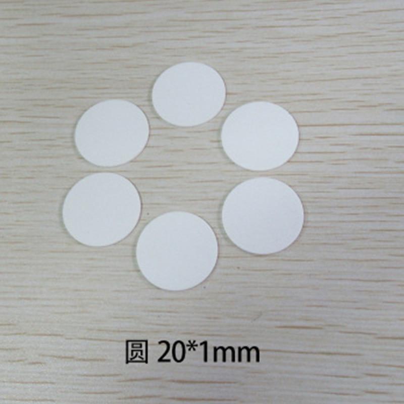По индивидуальному заказу 96% чистота al2o3 глинозем керамический пластины 12 мм-100 мм круглый блок промышленный износостойкие керамическому кр...