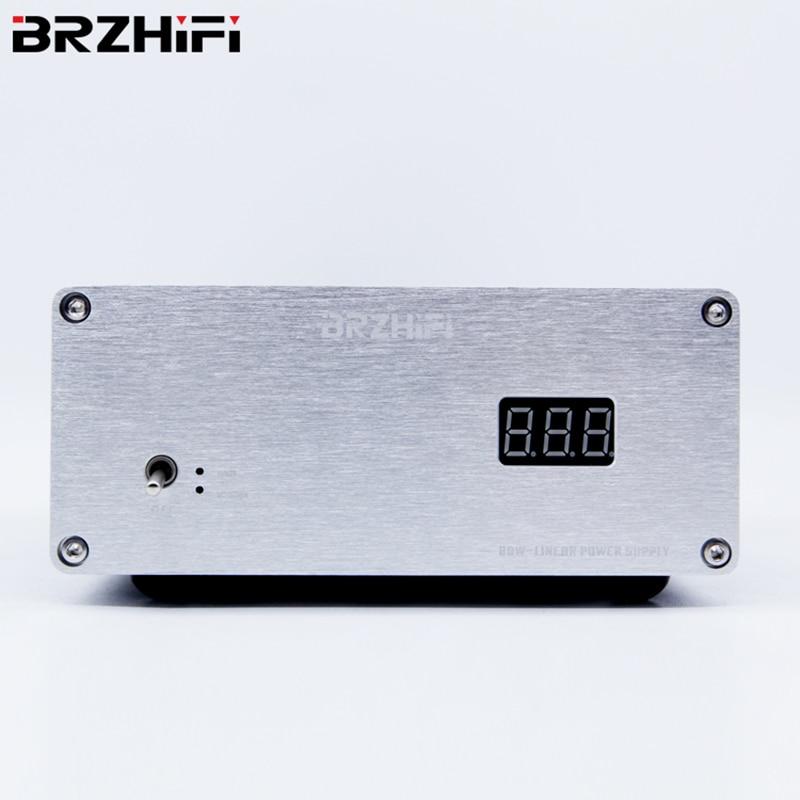 BRZHIFI التصميم الحديث 80 واط عالية الحالية مع حماية تيار مستمر امدادات الطاقة الخطية 12 فولت قرص صلب صندوق NAS راوتر ماك PCHiFi