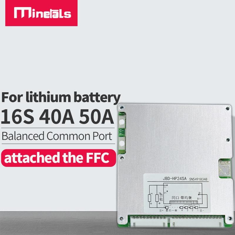 Batería de litio para patinete eléctrico, 16s, 30A, 40A, 50A, BMS, PCM,...