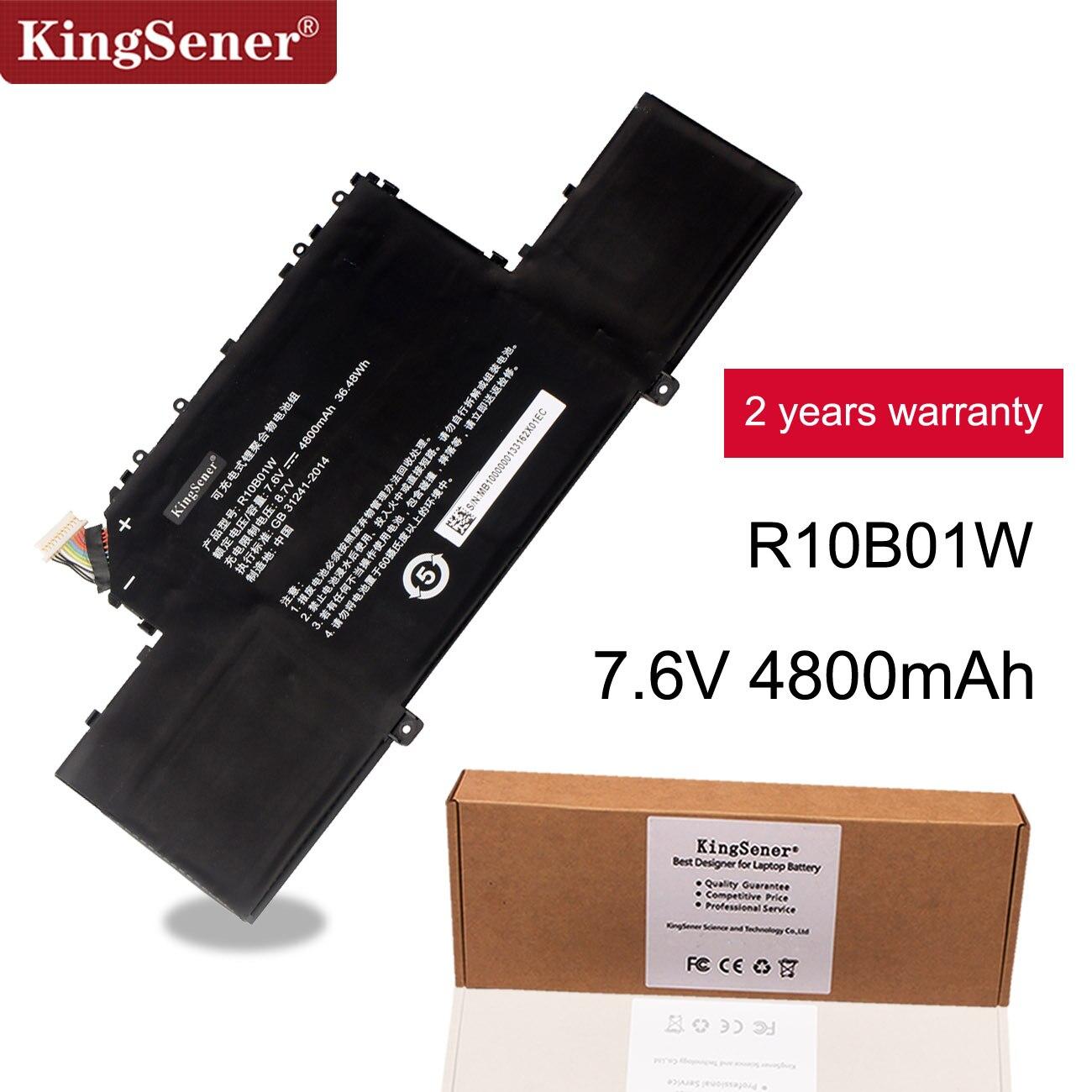 "KingSener R10B01W R10BO1W Аккумулятор для ноутбука Xiaomi Mi Air 12,5 ""серии Tablet 7,6 V 4800 mAh/36.48WH"
