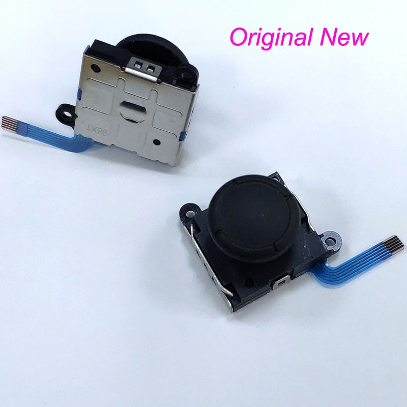 10 Uds., Original, nuevo, Sensor de palanca analógico 3D, Joystick para Switch NS, controlador Joy-Con y switch lite