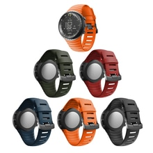 Brand new high quality silicone watch strap For Suunto Core replace watch band wristband watch belt