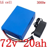 72v 2000w 3000w electric scooter battery 72v 20ah electric bicycle battery 72v 20ah 17ah 13ah lithium battery pack use lg cell
