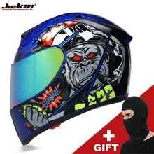 JIEKAI casque de Moto