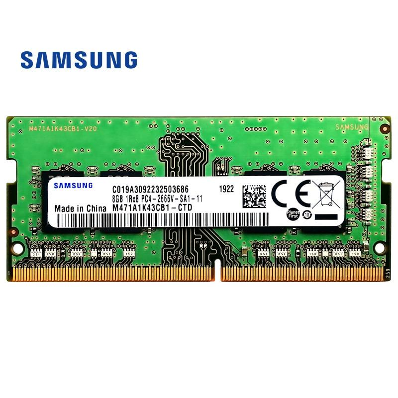 Samsung Laptop ddr4 ram 8gb 4GB 16GB PC4 2666Mhz 260-Pin 1,2 V 2666v DIMM notebook, Memoria 4g 8g 16g ddr4