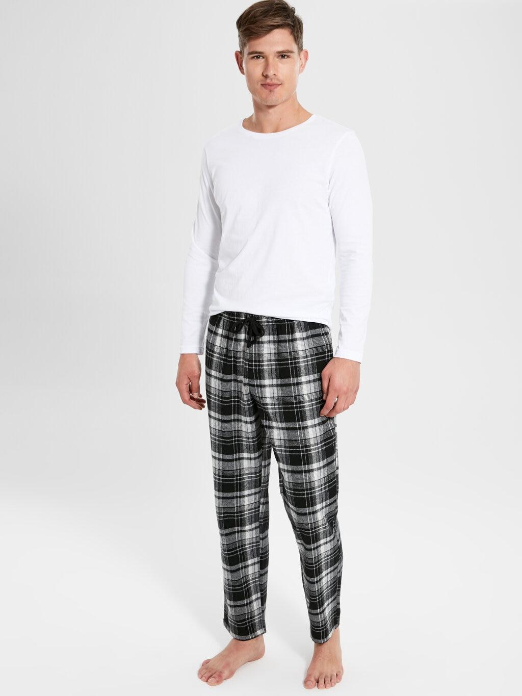 Men Sleep Bottom Geometric Casual Regular Size Sleep Suit Men Pajamas Bottom мужская одежда для сна Free Shipping