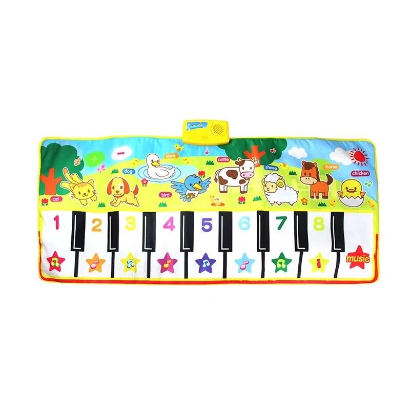 tapete de brinquedo musical para bebes tamanho grande brinquedo de piano infantil
