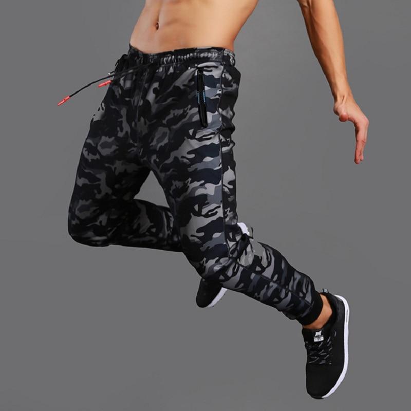 Camo Joggings Pants Men 2019 Mesh Sports Sweatpants Quick Dry Running Fitness Gym Pants Men Workout Training Trousers Sportswear