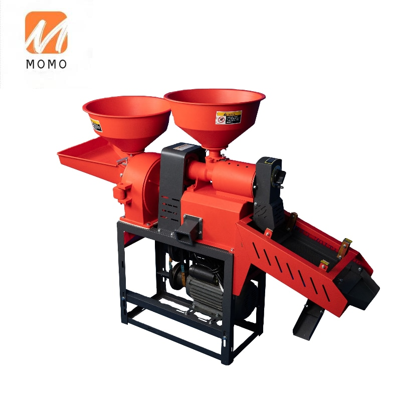 vibratory screen combined rice mill machine with flour mill
