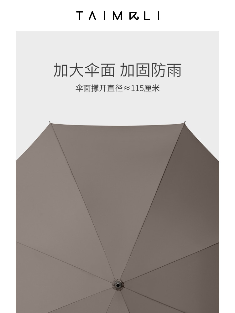 Vintage Automatic Umbrella Luxury Business Large High Quality Umbrella Waterproof Minimalist Guarda Chuva Umbrella BC50YS enlarge