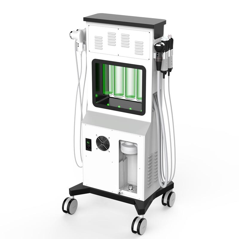 SPA Aqua Clean Glowskin O + Oxygen Facial Beauty Device Cold Hammer HO Facial Oxygen Jet Aqua Peel Dermabrasion Hydra Machine